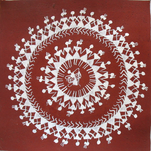This is what Warli folk paintings look like | A wide angle ...