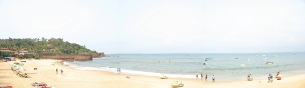 Fort Aguada beach
