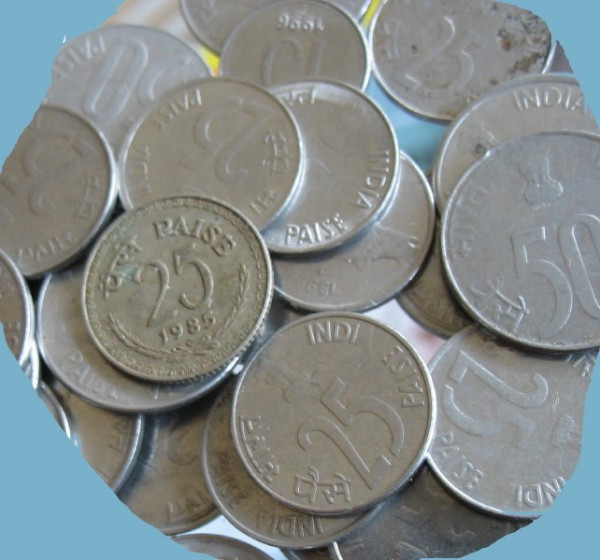 cut small coins 25