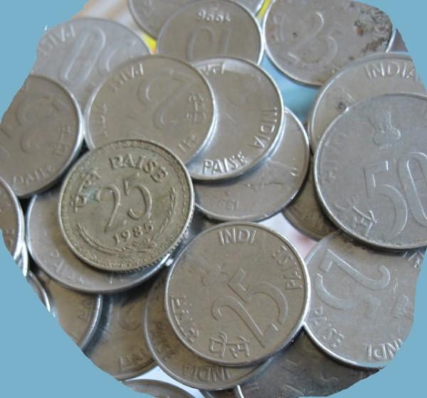 cut small coins 25
