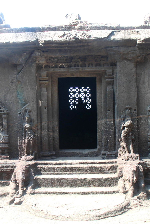 Ellora Temple Entrance