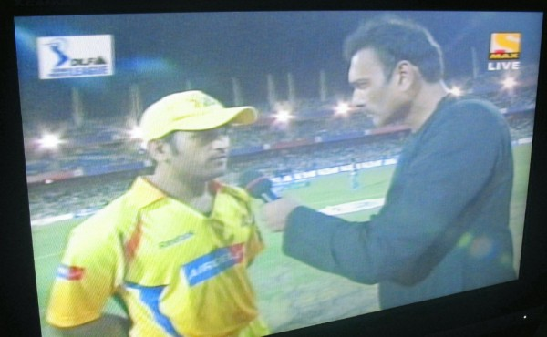 Dhoni and Shastri