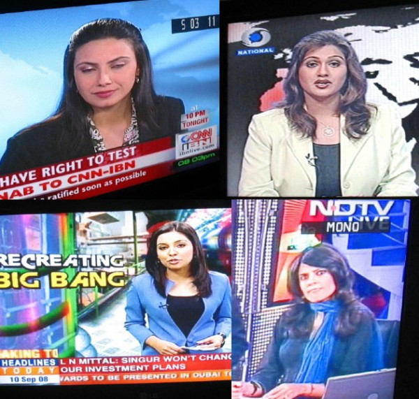 Women on English News Channels