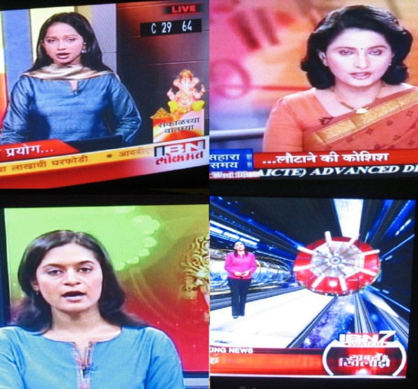 Women on Indian Language News Channels